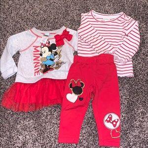Disney Baby Girls Bundle SZ.12 months